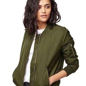 H&M Cotton Bomber Jacket